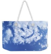 Happy Face Sky Weekender Tote Bag