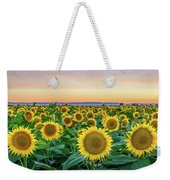 Happy Faces Weekender Tote Bag