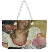 Happy Family Weekender Tote Bag