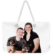 Happy Family Weekender Tote Bag