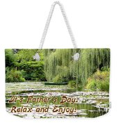 Happy Father's Day Weekender Tote Bag