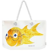 Happy Fish With Glasses Weekender Tote Bag