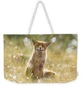 Happy Fox Is Happy Weekender Tote Bag
