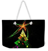 Happy Fractal Holidays Weekender Tote Bag