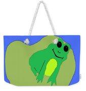 Happy Frog Weekender Tote Bag