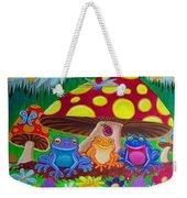 Happy Frog Meadows Weekender Tote Bag