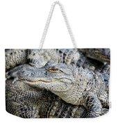 Happy Gator Weekender Tote Bag