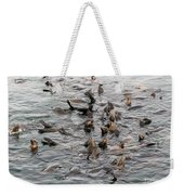 Happy Harbour Seals Weekender Tote Bag