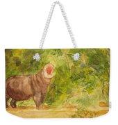 Happy Hippo Weekender Tote Bag