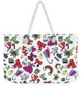 Happy Holiday  Weekender Tote Bag