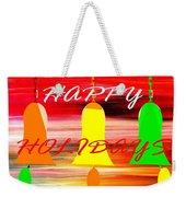 Happy Holidays 11 Weekender Tote Bag