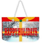 Happy Holidays 21 Weekender Tote Bag