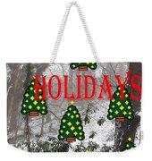 Happy Holidays 29 Weekender Tote Bag