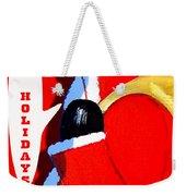 Happy Holidays 6 Weekender Tote Bag by Patrick J Murphy