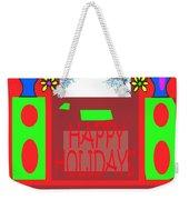 Happy Holidays 98 Weekender Tote Bag