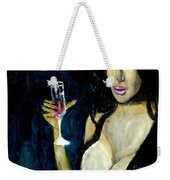 Happy Hour Glass Red Wine  Weekender Tote Bag