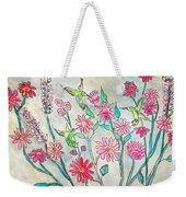 Happy Hummingbirds Weekender Tote Bag