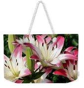 Happy Lilies Weekender Tote Bag