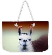 Happy Llama Weekender Tote Bag