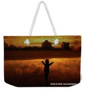 Happy Moment At A Beach Weekender Tote Bag