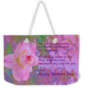 Happy Mothers Day 2 Weekender Tote Bag