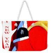 Happy New Year 4 Weekender Tote Bag by Patrick J Murphy