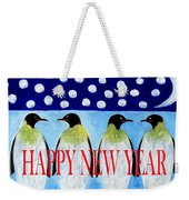 Happy New Year 5 Weekender Tote Bag