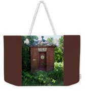 Happy Outhouse Weekender Tote Bag