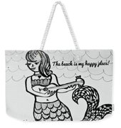 Happy Place Weekender Tote Bag