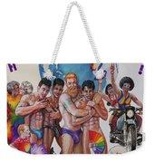 Happy Pride Weekender Tote Bag