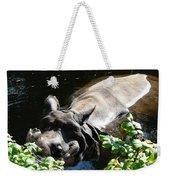 Happy Rhino Weekender Tote Bag