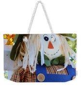 Happy Scarecrow Weekender Tote Bag