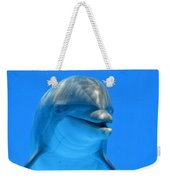 Happy Smiling Dolphin Weekender Tote Bag