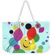 Happy Spring Image Weekender Tote Bag