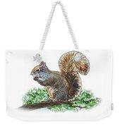 Happy Squirrel  Weekender Tote Bag