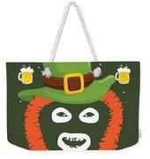 Happy St Patrick's Dave League Of Gentlemen Inspired Papa Lazarou  Weekender Tote Bag