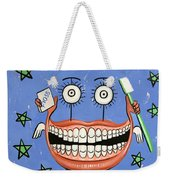 Happy Teeth Weekender Tote Bag