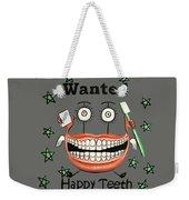Happy Teeth T-shirt Weekender Tote Bag