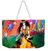 Happy To Dance. Ameynra And Mother-queen Weekender Tote Bag