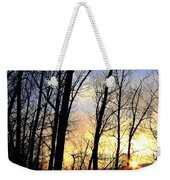 Happy Trails Sunset Weekender Tote Bag