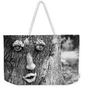 Happy Tree In Black And White Weekender Tote Bag