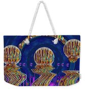 Happy Under The Rainbow Vintage Weekender Tote Bag