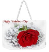 Happy Valentine's Day Weekender Tote Bag