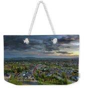 Happy Valley Residential Neighborhood During Sunset Weekender Tote Bag