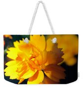 Happy Yellow Flower Weekender Tote Bag