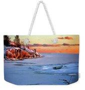 Harakka Island Sunset Weekender Tote Bag