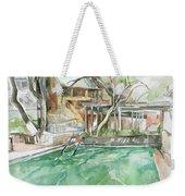 Harbin Hotsprings Pool Weekender Tote Bag