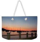 Harbor At Dusk Weekender Tote Bag
