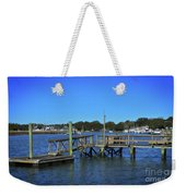 Harbor At Mcclellanville, Sc Weekender Tote Bag