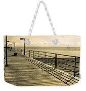 Harbor Beach Michigan Boardwalk Weekender Tote Bag
